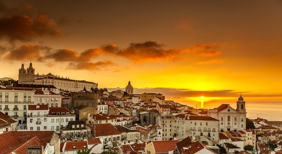 Lisboa-por-do-sol